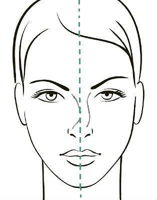 Девиация спинки носа 2 степени, сайт пластического хирурга Аганесова Г. А.