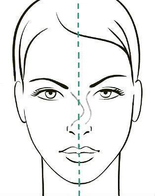 Девиация спинки носа 3 степени, сайт пластического хирурга Аганесова Г. А.